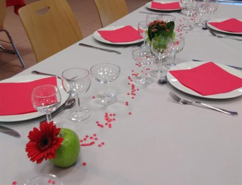 CENTRE  DE TABLE FRUIT